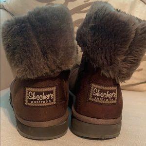 Skechers ankle booties
